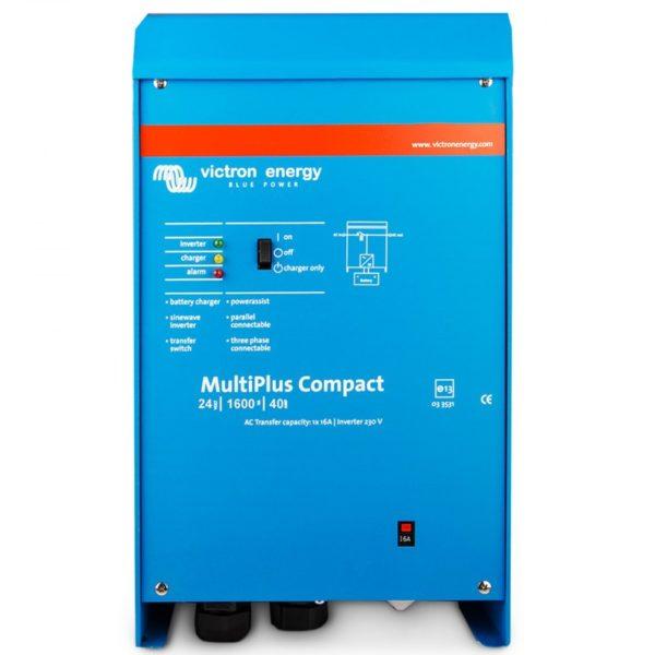 inversor cargador 24v 1600w multiplus victron