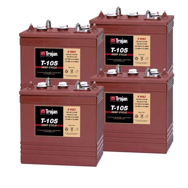 bateria trojan 24v 250ah