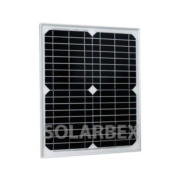 placa solar 20W 12V