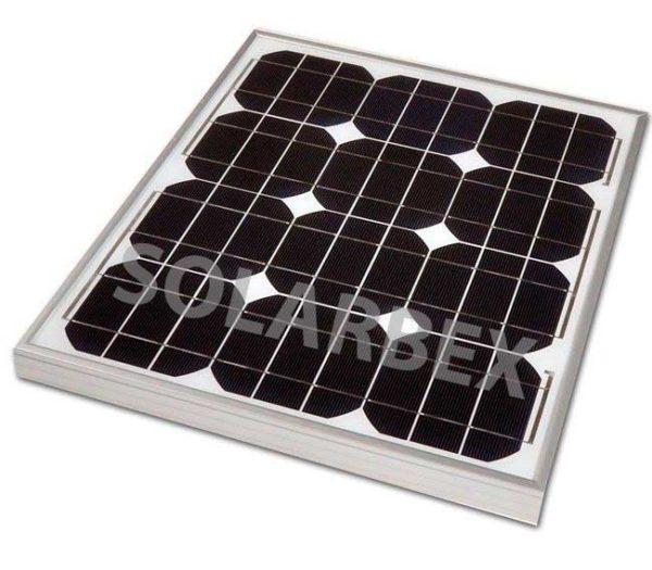 placa solar 50W 12V