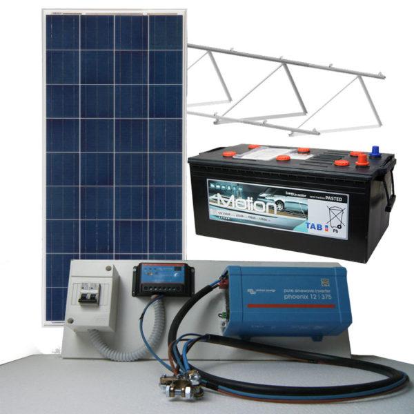 kit placas solares aislada 1500w