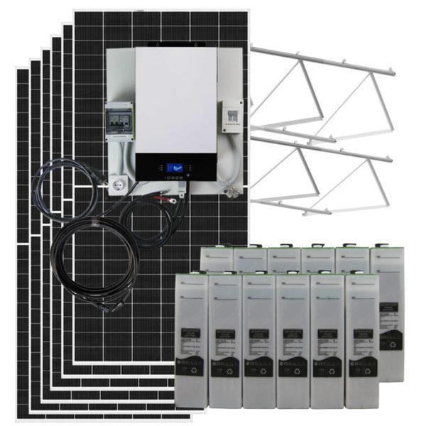 kit solar 3kw con baterias sopzs