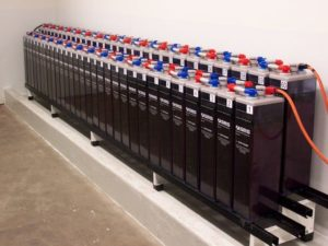 kit solar con baterias estacionarias opzs