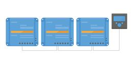 conexion paralelo regulador carga victron
