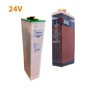 Baterías solares 24V