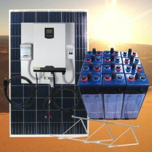 Kits solares con baterias