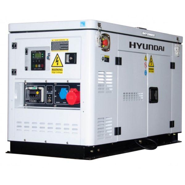 generador diesel 9.000 vatios trifasico silencioso