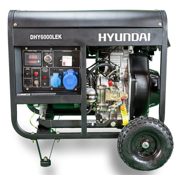 generador diesel 5.000 vatios monofasico