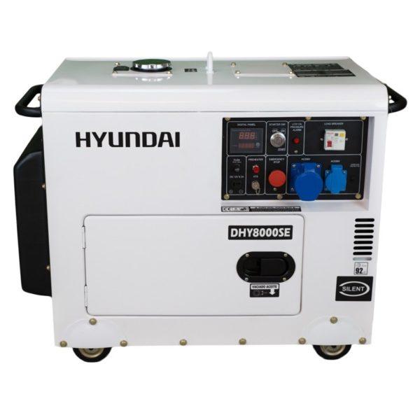 generador diesel silencioso 5.000 vatios