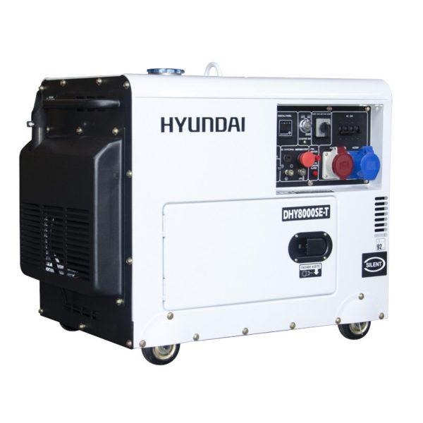 generador diesel trifasico silencioso 5000 vatios