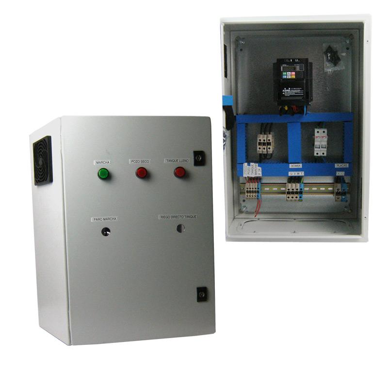 armario metálico con cuadro eléctrico