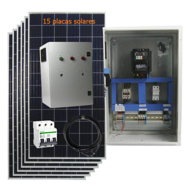 kit bomba solar 3cv