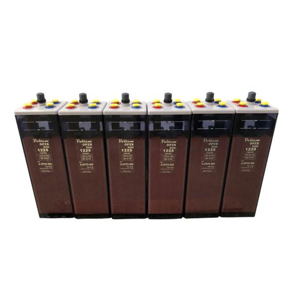 bateria solar 12V 1225ah Opzs Voltem