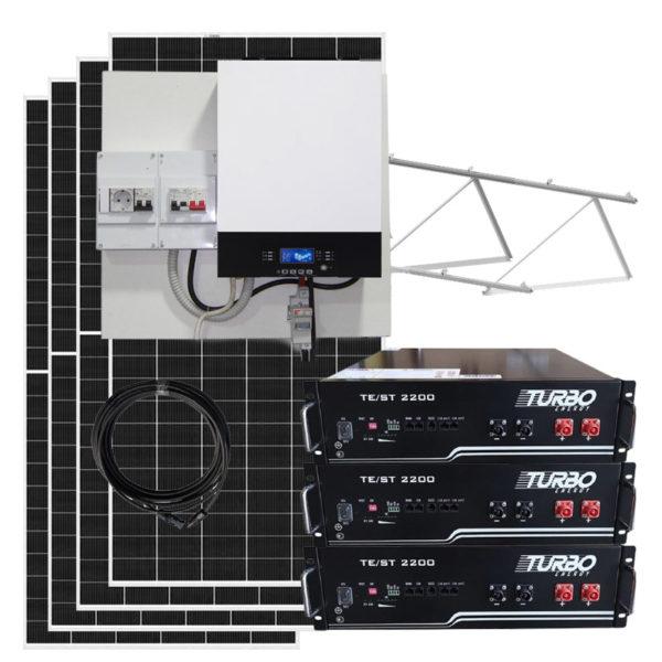 kit solar litio 7000w