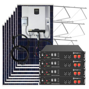 kit solar 10800w con baterias litio pylontech