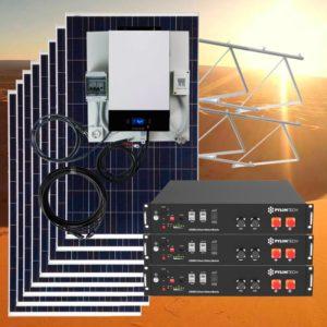 Kit solares con baterías de Litio