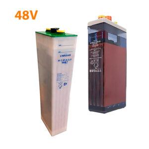 Baterías solares 48V