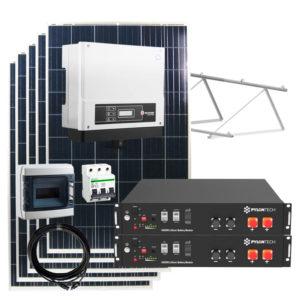 kit solar autoconsumo con baterias litio 4800w