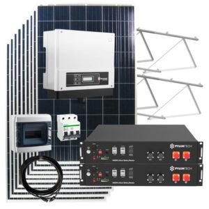 kit solar autoconsumo 14kw con baterias litio