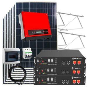 kit solar autoconsumo 16kw con baterias litio
