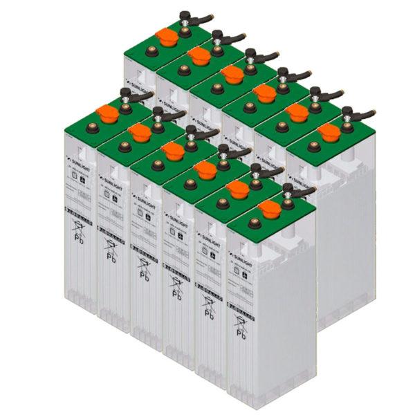 bateria solar 24V sopzs