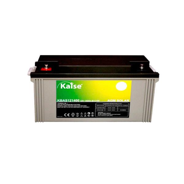 bateria solar agm 12v 140ah kaise
