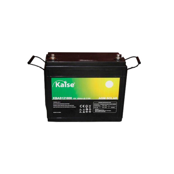 bateria solar agm 12v 160ah kaise