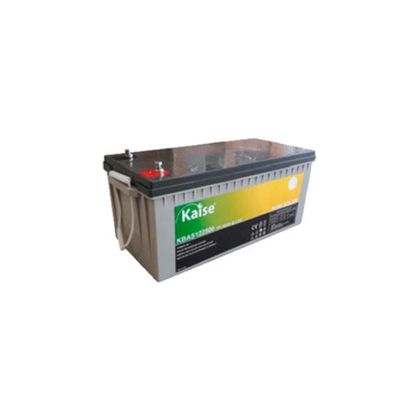 bateria solar agm 250ah 12v kaise
