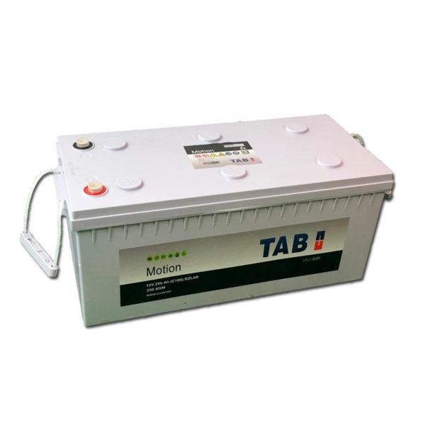 bateria solar monoblok tab agm 12v 250ah