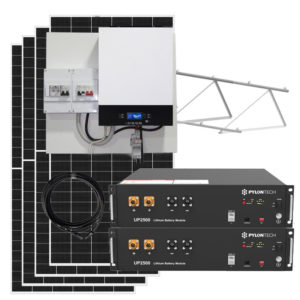kit solar con baterias litio 8kw