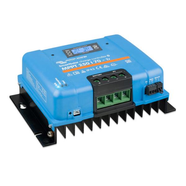 regulador mppt 250 voltios 70 amperios victron con display