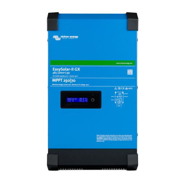 inversor hibrido voltronic 48 voltios easysolar