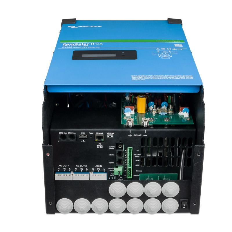 bornera conexiones inversor victron easysolar2