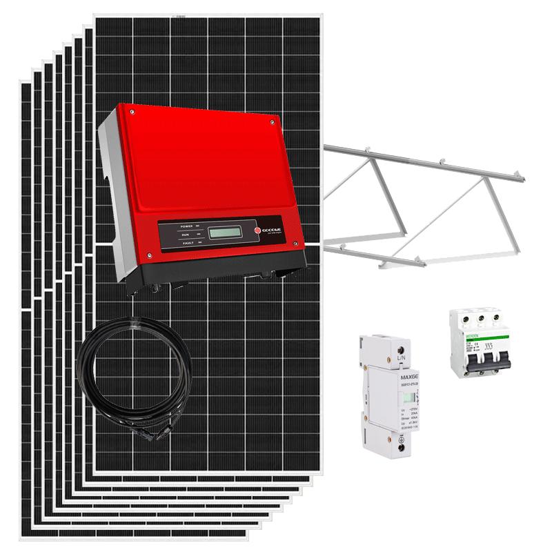 kit solar autoconsumo 3000w